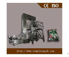 Pillow Bag Chips Packaging Machine With 10 Head Weighs