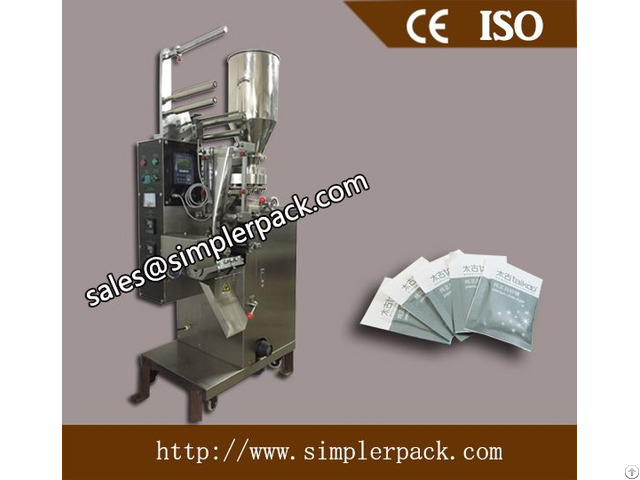 Three Sides Seal Granules Packaging Machine