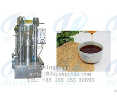 Sesame Seeds Oil Pressing Machine