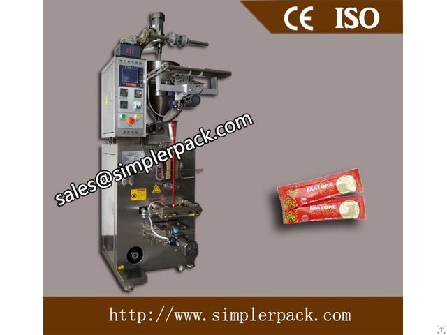 Fully Automatic Liquid Paste Honey Packaging Machine
