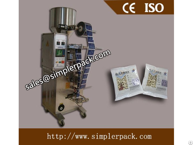 Fully Automatic Back Seal Cooked Beans Packing Machine