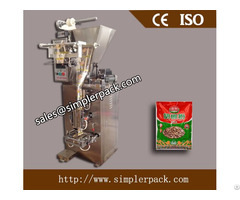 Four Sides Seal Powder Packaging Machine Fully Automatic