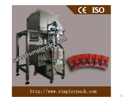 Back Seal Salt Sugar Packing Machine Fully Automatic