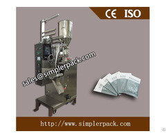 Three Sides Seal Granules Packaging Machine