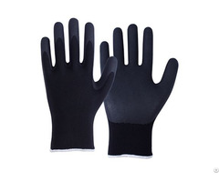 Nitrile Coated Safety Work Gloves Ncg 040