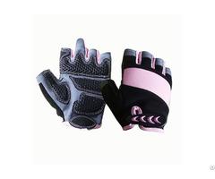 Fingerless Mechanic Safety Work Gloves Msg 004