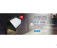 Sltmaks Dlc Ul 80w Led Wall Pack Light Ip65 5years Warranty Applications Item