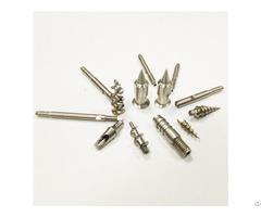 China Factory High Quality Precision Machining Service Cnc Titanium Screw Mechanical Parts Wholesale