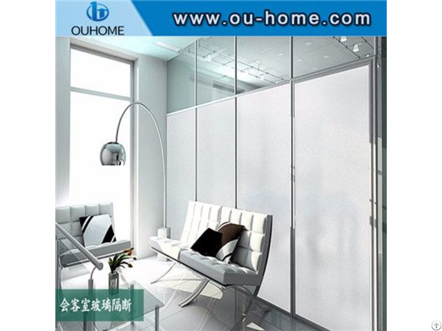 H058b Office Decorative Static Glass Film Stickers