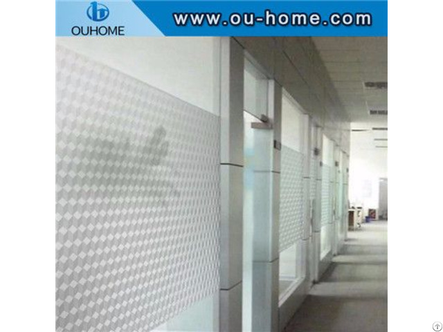 H001 Decorative Blackout Privacy Glass Window Film Stickers
