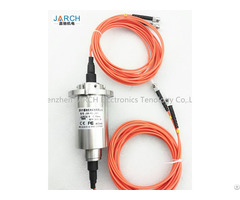 High Speed 100rpm 2 Channel Fibre Optic Slip Rings Rotary Joints