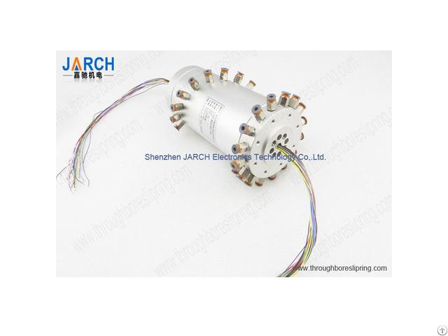 Multi Passage Pneumatic Hydraulic High Rotary Union With 1 1mpa Pressure