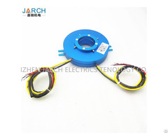 Thin Electrics 2 Wire Circuits 2a 20a Pan Cake 50mm Hole Size Slip Rings Of Pancake