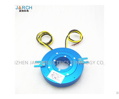 Electric Swivel Slip Ring 3 Wing Revolving Door Disc Type Conductive
