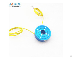 Rotating Electrical Connectors Rotary Joint Platter Slip Ring For Medical Equipment Applications