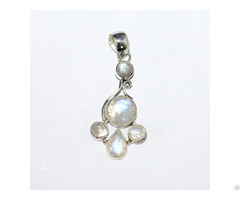 Moon Stones Customized Necklace