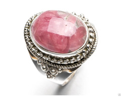 Rhodonite Lady S Fashion Ring