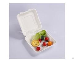 Paper Pulp Tableware 6 Inch Hamburger Box