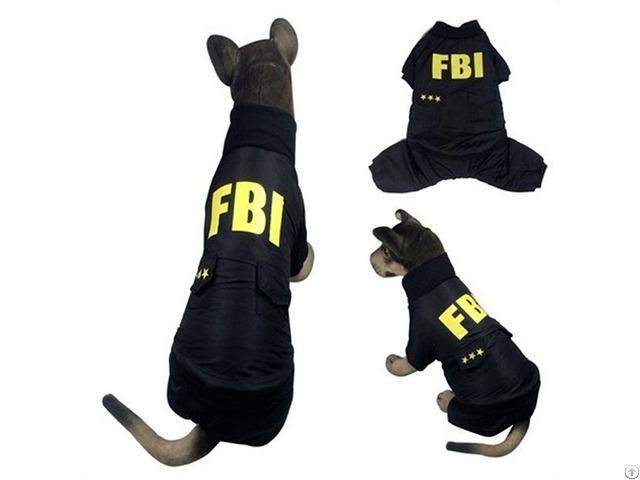 Dog S Fbi Coat