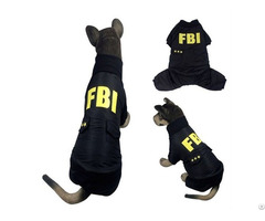 Dog S Fbi Coat
