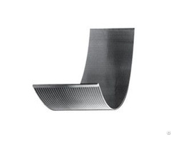 Wedge Wire Screen Panel Sieve Bend