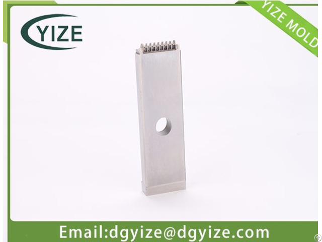 Precision Mould Component Manufacturer Slide Inserts For Connector With Good Service