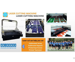 Laser Cut Sublimation Fabric By Unikonex