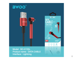 Bwoo Bo X152 Portable 90 Degree Type C Usb Charger Cable