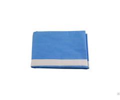 Adhesive Side Surgical Drape