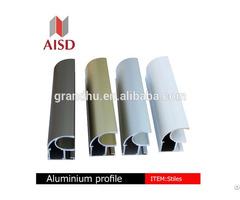 Aluminium Frame Profile Wood Colour