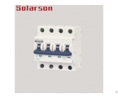 1000vdc Mini Circuit Breaker For Solar Energy Photovoltaic System 4p 20a 25a 31 5a