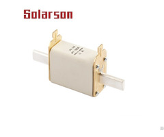 1000vdc Hrc Square Nh Photovoltaic Solar Fuse Link 250a With High Breaking Capacity