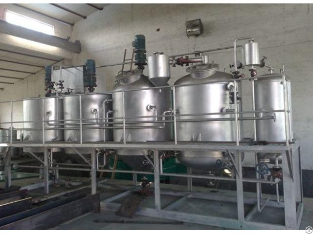 Palm Oil Refining Process Machine