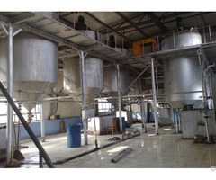 Sunflower Oil Refining Equipment Plant