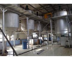 Sunflower Oil Refining Equipment Plant