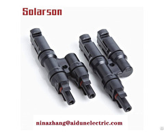 Tuv Solar Y Branch Mc4 Fuse Connector 30a 2 5 6mm2