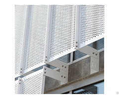 Aluminum Perforated Sheet Used For Interior And Exterior Decoration
