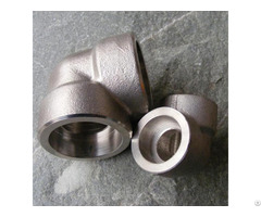 Forged Fitting Sw Socket Welding Elbow