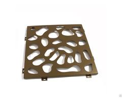Residential Design Decorative Aluminum Perforated Sheet