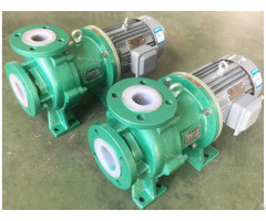Cqbf Steel Lined With Pvdf2 Magnetic Chemical Pump