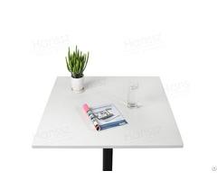 Customized Sizes Shapes White Quartz Table Top