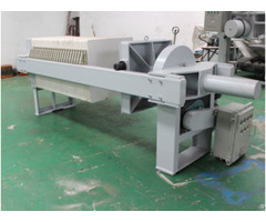 Chamber Electric Mechanical Compacting Filter Press