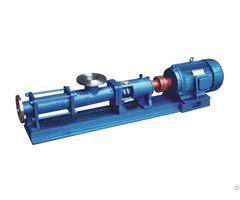 G Type Screw Pump