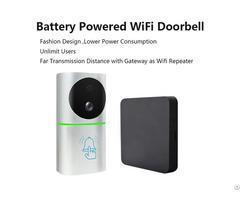 Door Entry Bell Onvif Wifi Ip Doorbell Camera Video Doorphone Tl Wf03