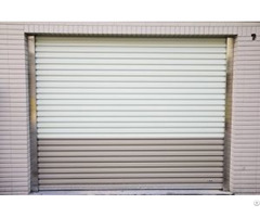 Garage Rolling Door Zincalume