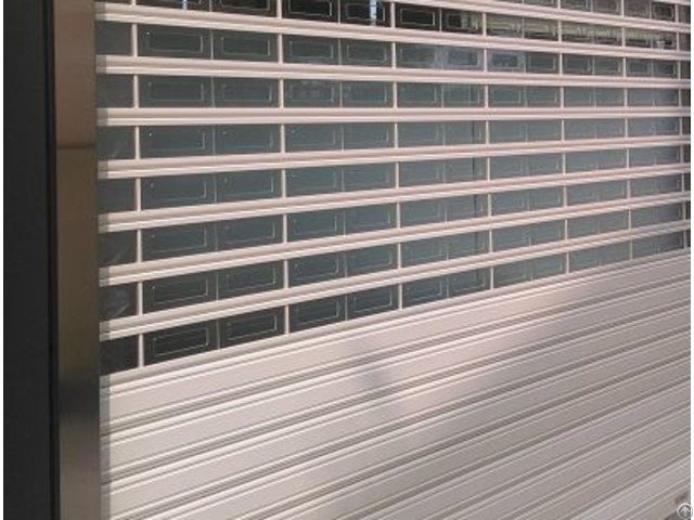 Garage Rolling Door Polycarbonate