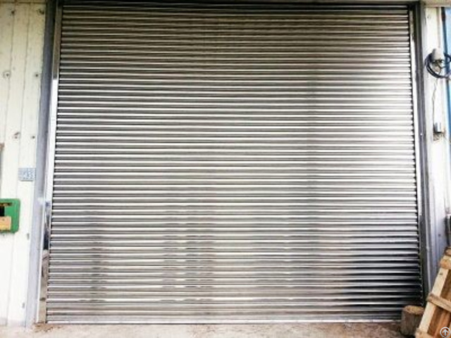 Garage Rolling Door Stainless Steel