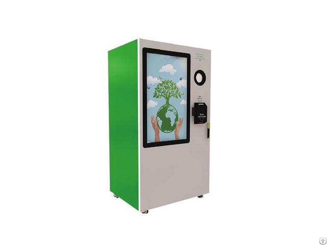 Touch Screen Reverse Vending Machine