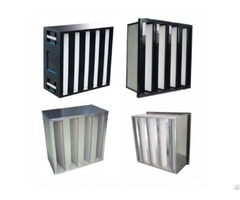 Yl F9 H10 H11 H12 Large Air Volume Densely Pleated W Type Filters