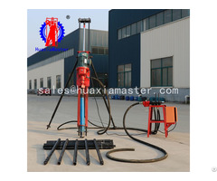 Supply Pneumatic Electric Dth Drilling Rig Kqz 70d Lightweight Geology Exploration Machine